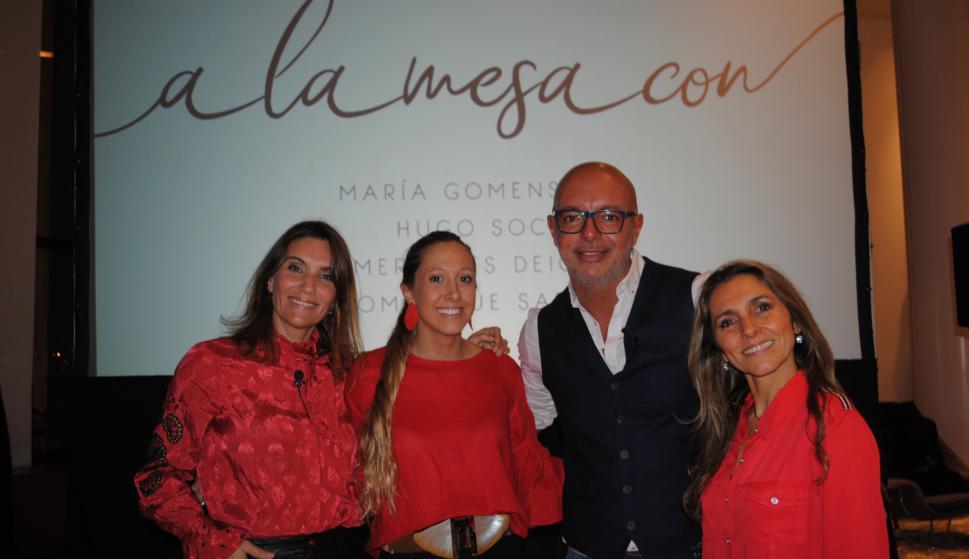 María Gomensoro, Mercedes Deicas, Hugo Soca, Dominique Sarries.