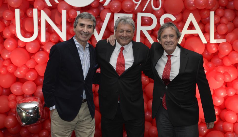 Berch Rupenian, Alberto Kesman, Pablo Lecueder.