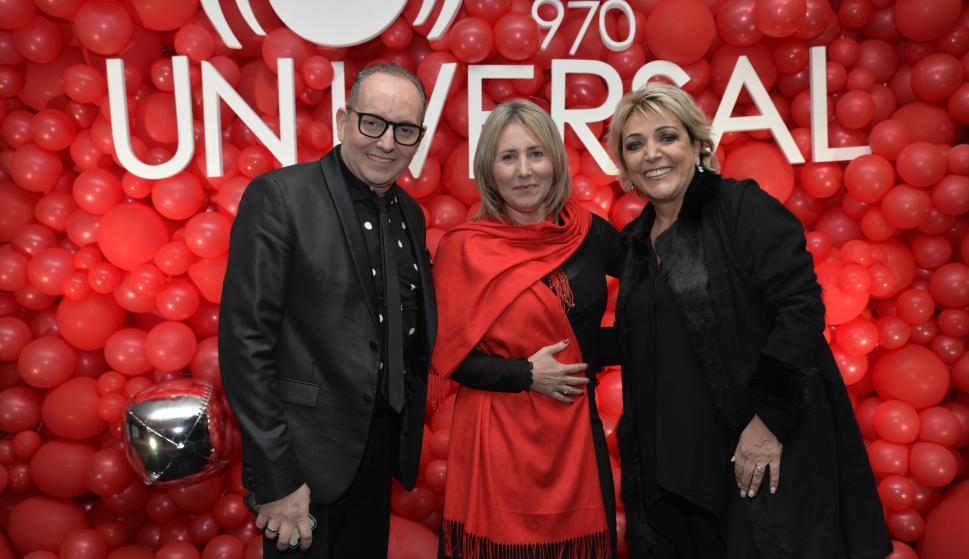 Lenoel Aita Musi, Claudia García, Lina Pacella.