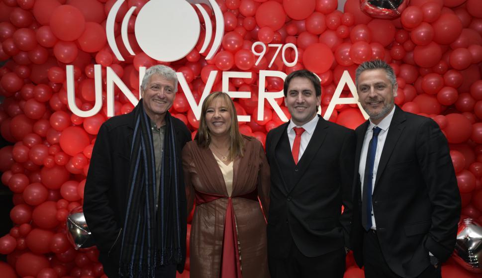 Sergio Gorzy, Gabriela Imperio, Diego Sorondo, Jorge Echagüe.