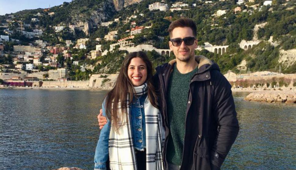 Antonella y Kevin viven en Niza, Francia