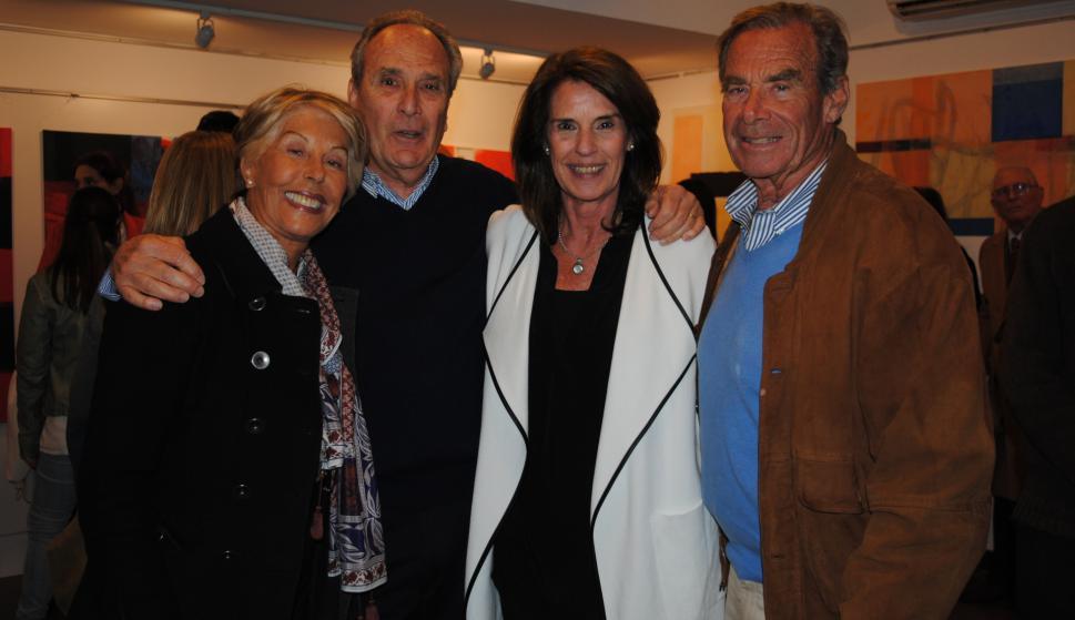 Alicia Martínez de Pacheco, Pico Cibils, Soledad Carve, Ricardi Pacheco.