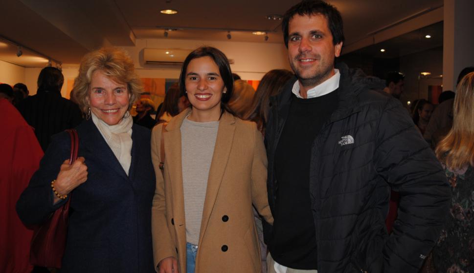 Cecilia Rubio, Victoria Urgal, Carlos Ravecca.