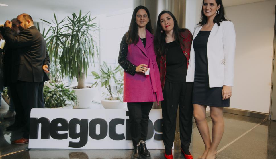 Déborah Friedmann, Ana Laura Pérez, Marcela Dobal.
