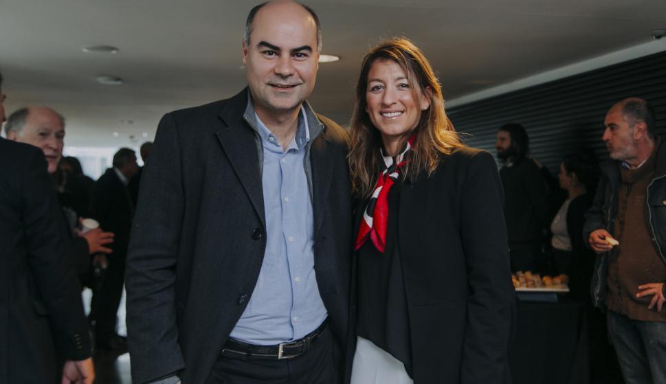Fernando Leis, Paula Brugnini.