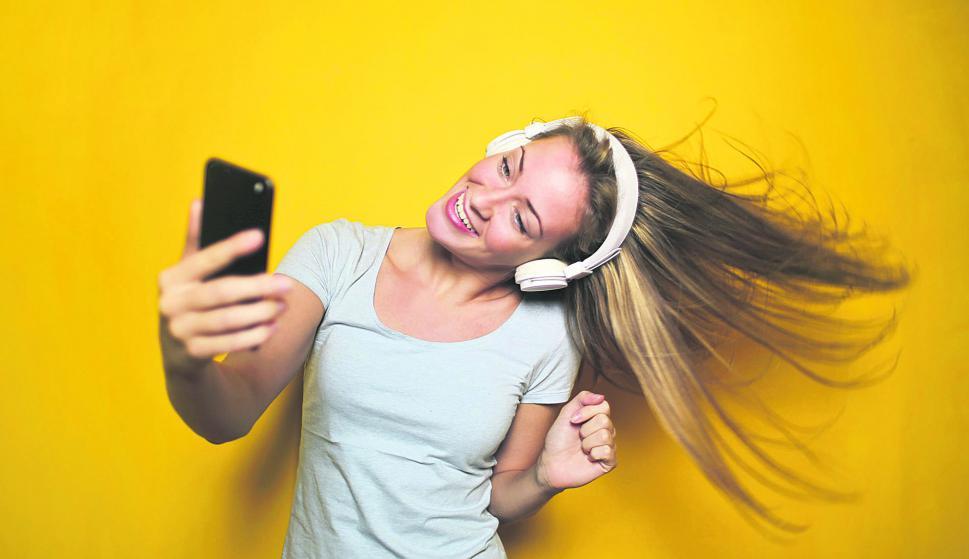 juventud, música, redes