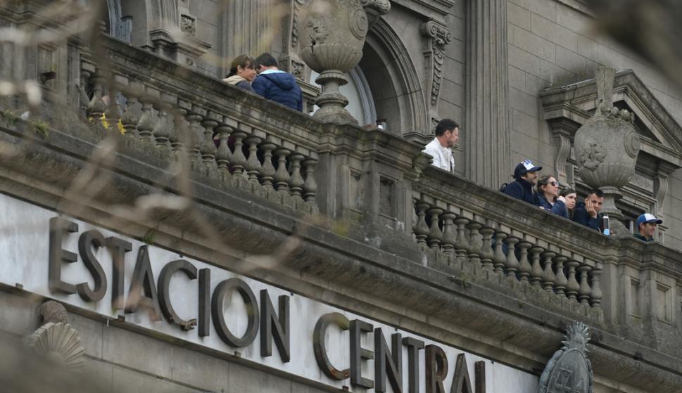 La Estación Central ya es un clásico del Día del Patrimonio. Foto: Leonardo Mainé