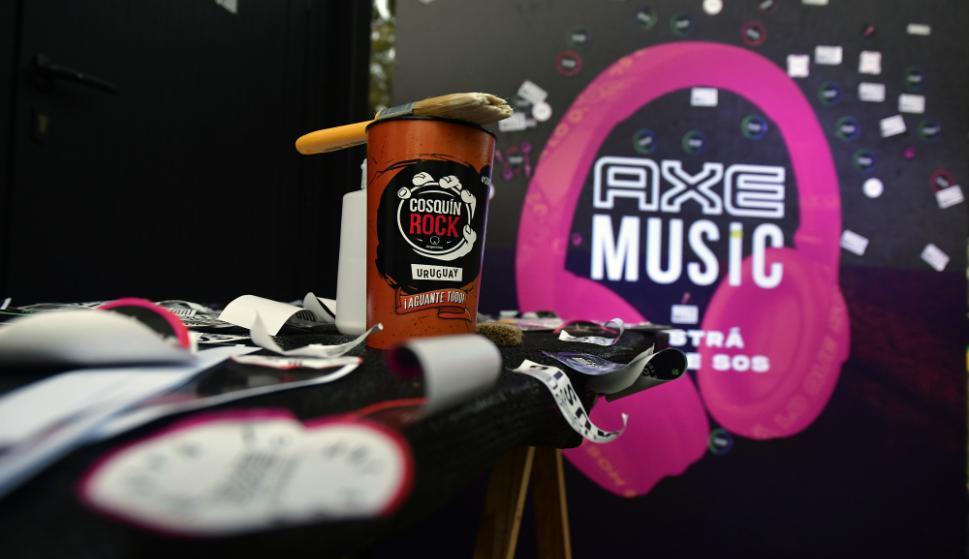 Axe Uruguay en Cosquín Rock 2019. Foto: Fernando Ponzetto