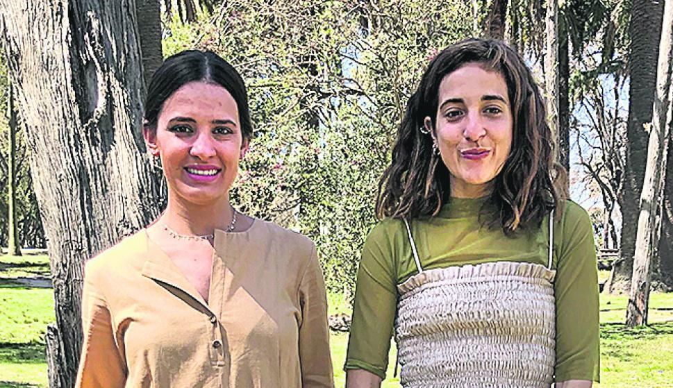 Helena Betolaza, Paula Vignolo.
