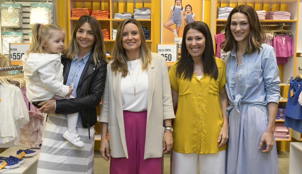 Valentina Fernández, Magdalena Mutio, Ximena Quintans, Steffi Rauhut.