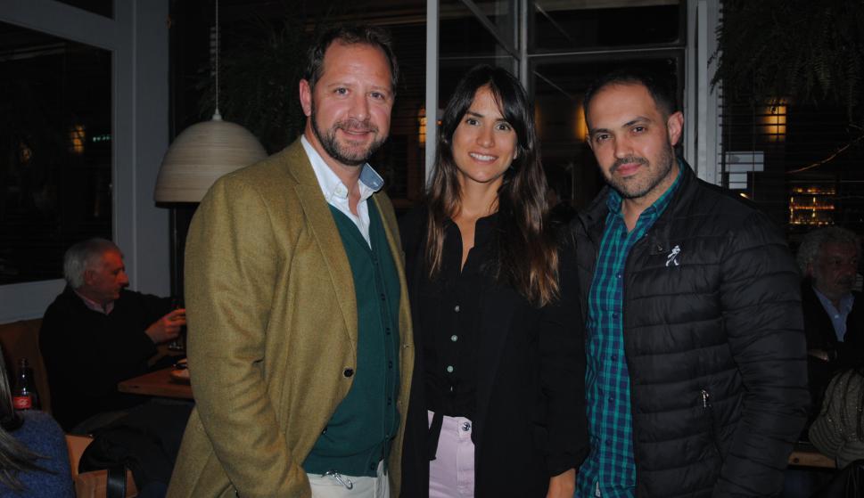 Aldo Alario, Josefina Martino, Lucas Silva.