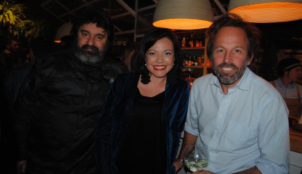 Ernesto Musitelli, María Inés Alonso, Gabriel Guliak.