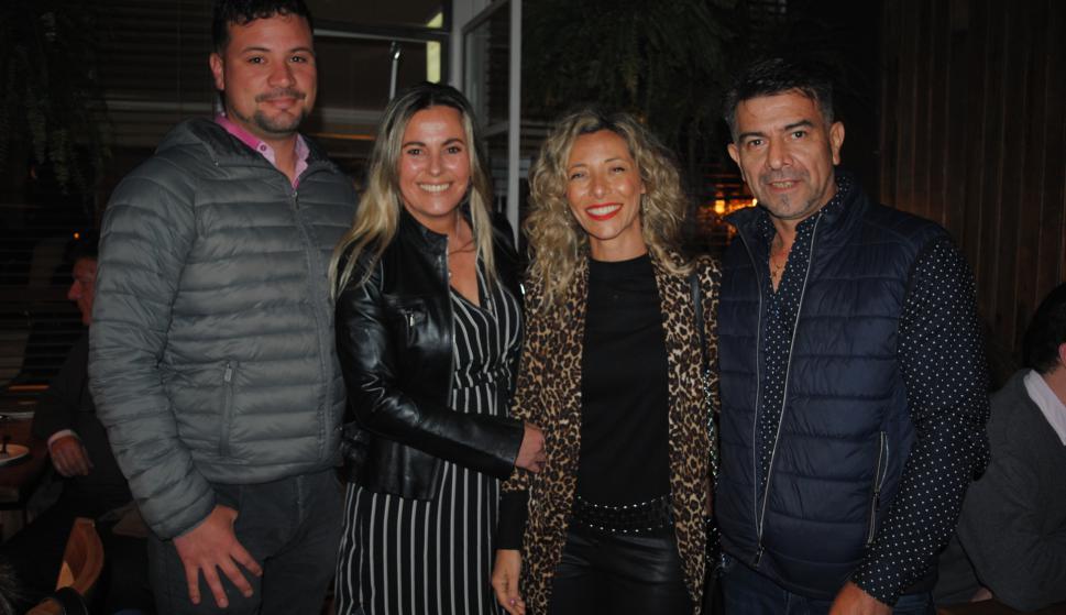 Matías Garrido, Laura Avoletta, Alejandra Lemos, Jorge Silva.