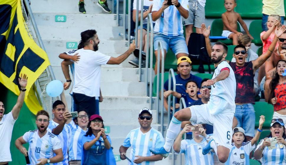 Goleada de Argentina ante Ecuador: 6-1
