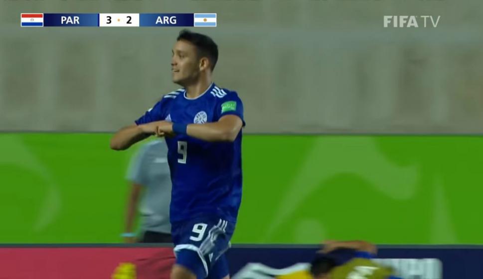 Paraguay le dio vuelta el partido a Argentina y la eliminó del Mundial Sub 17