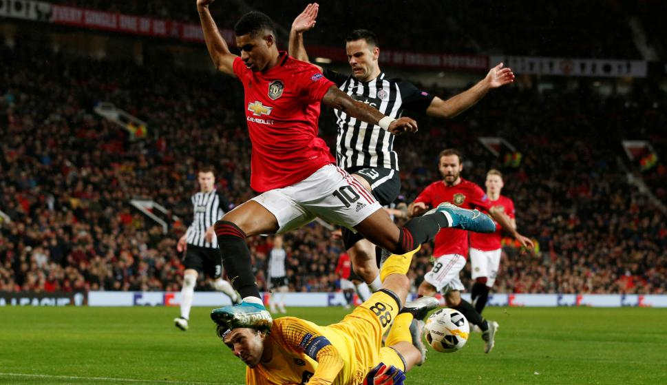 Manchester United. Foto: EFE.