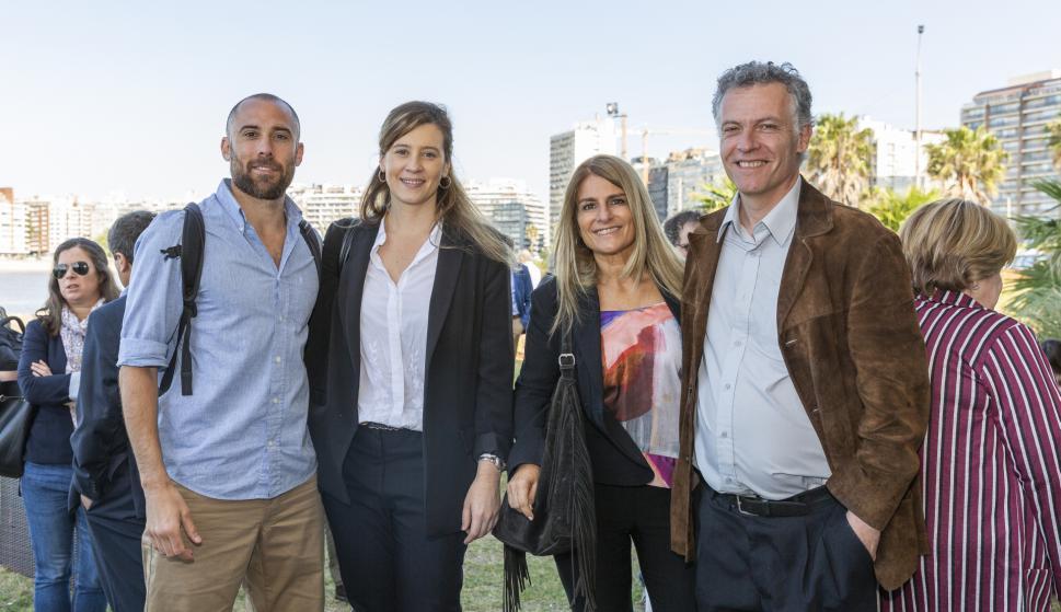 Alejandro Acle, Gimena Sánchez, Silvana Sottolano, Eduardo Blasina.