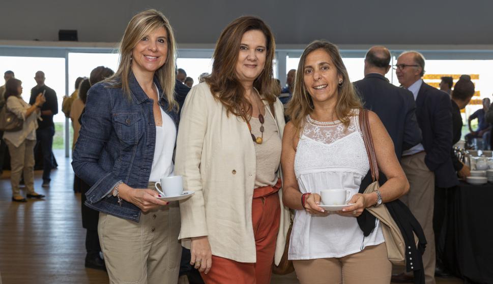 Carolina Oehler, Laura Skidelsky, Sonia Peresas.