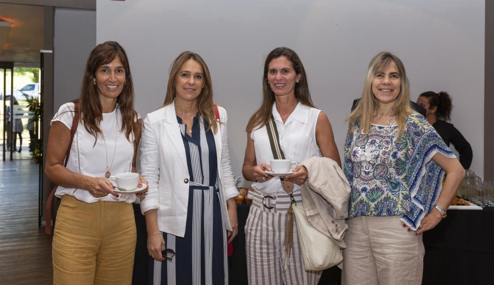 Gabriela Puig, Cecilia Pacheco, Raquel Ferber, Carolina Brause.