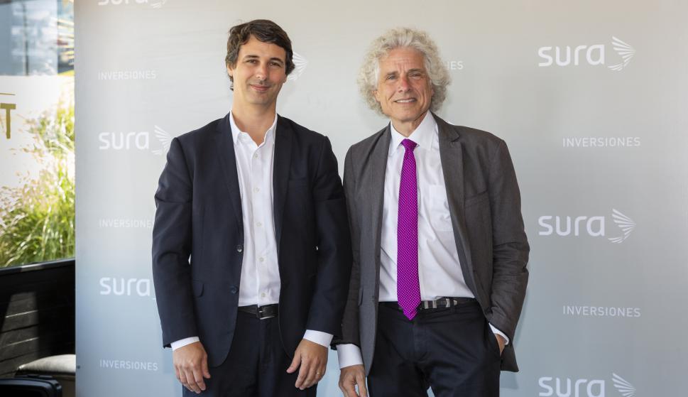 Gerardo Ameigenda, Steven Pinker.