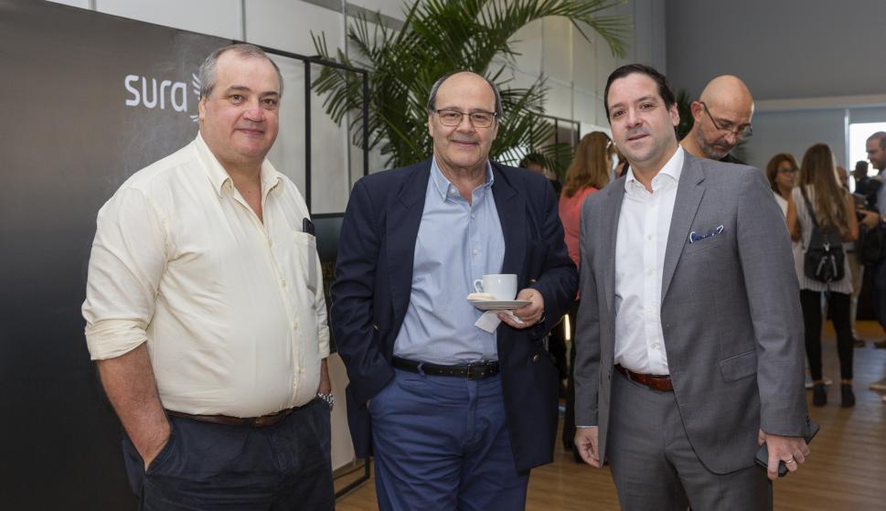 José Santisteban, Fernando Santisteban, Pablo Perrotta.
