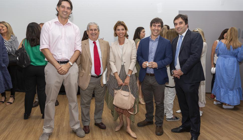 Juan Dubra, Conrado Hughes, Fernanda Guliak, Martín Aguirre, Aldo Lema.