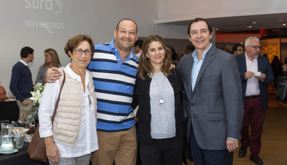 Mónica Frankel, Gabriel Szames, Natalia Menache, Daniel Cosentino.