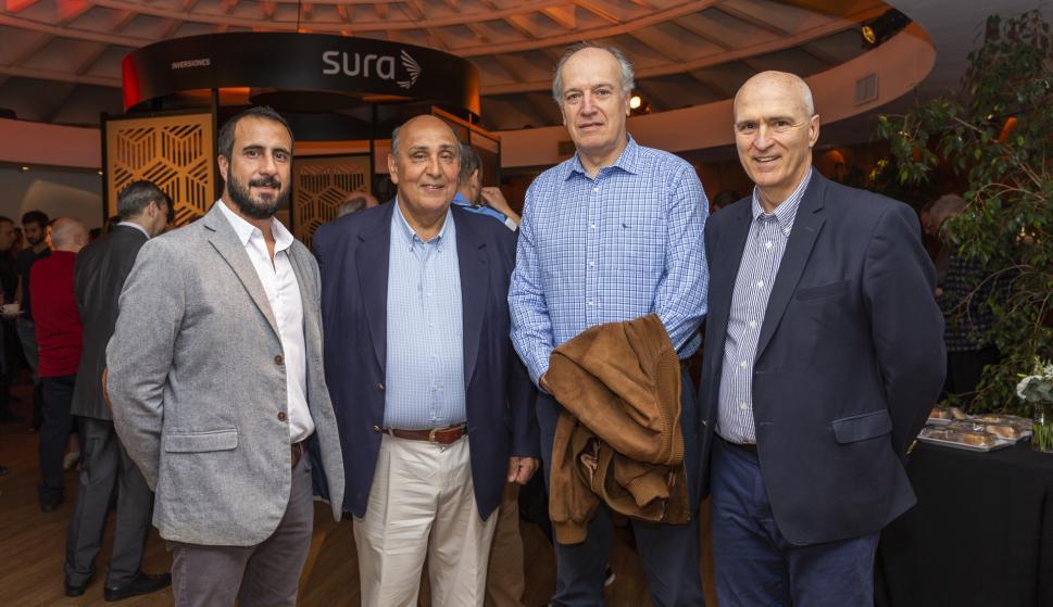 Patricio Vizintin, Antonio Vizintin, Juan Barbé, Guillermo Mateos.