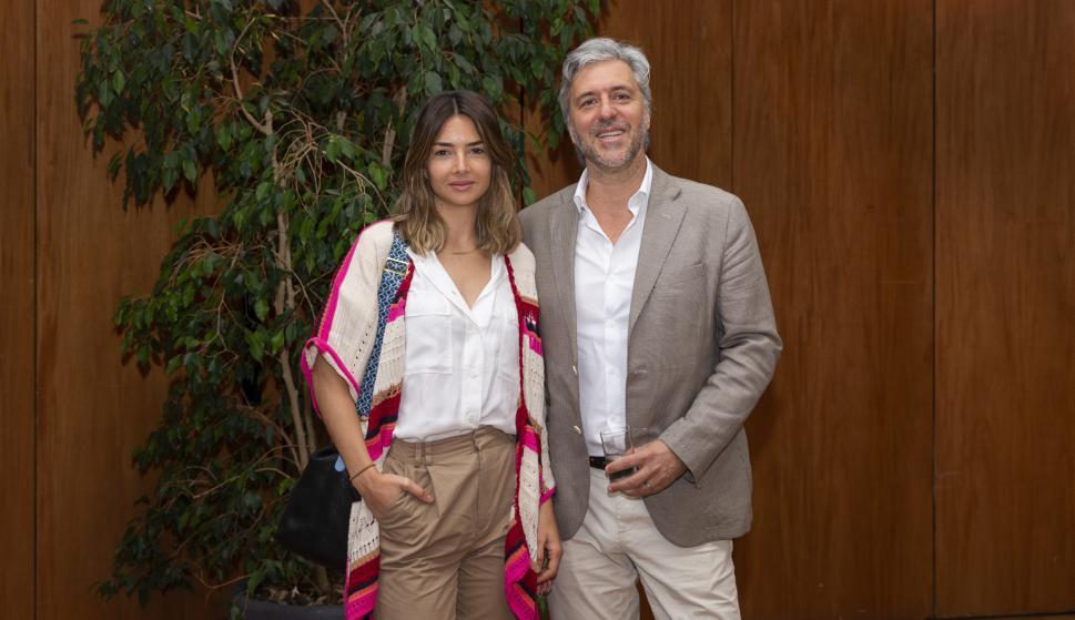 Valentina Fernández, Roberto Behrens.