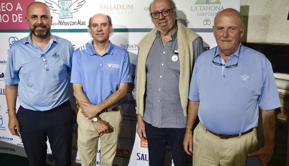 Marcelo Tobler, Enrique García de Zúñiga, Eduardo Ameglio, Enrique Muñóz.