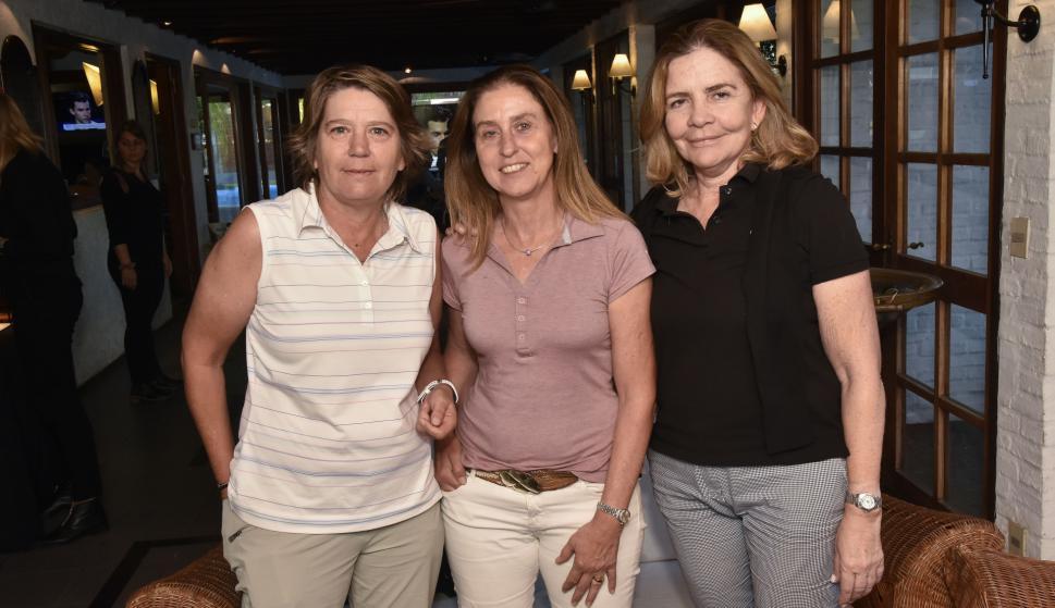 Nicky Bryans, Inés Leborgne, Rosa Romero.
