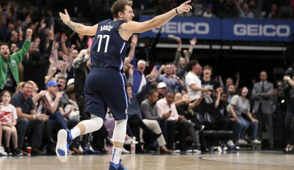 El esloveno Luka Doncic no deja de ser noticia en la NBA