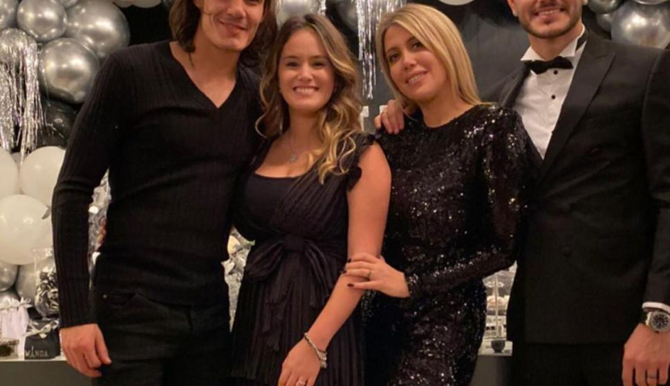 Edinson Cavani Y Joselyn Burgardt Presentes En El Cumpleanos De Wanda Nara Tvshow 11 12 2019 El Pais Uruguay