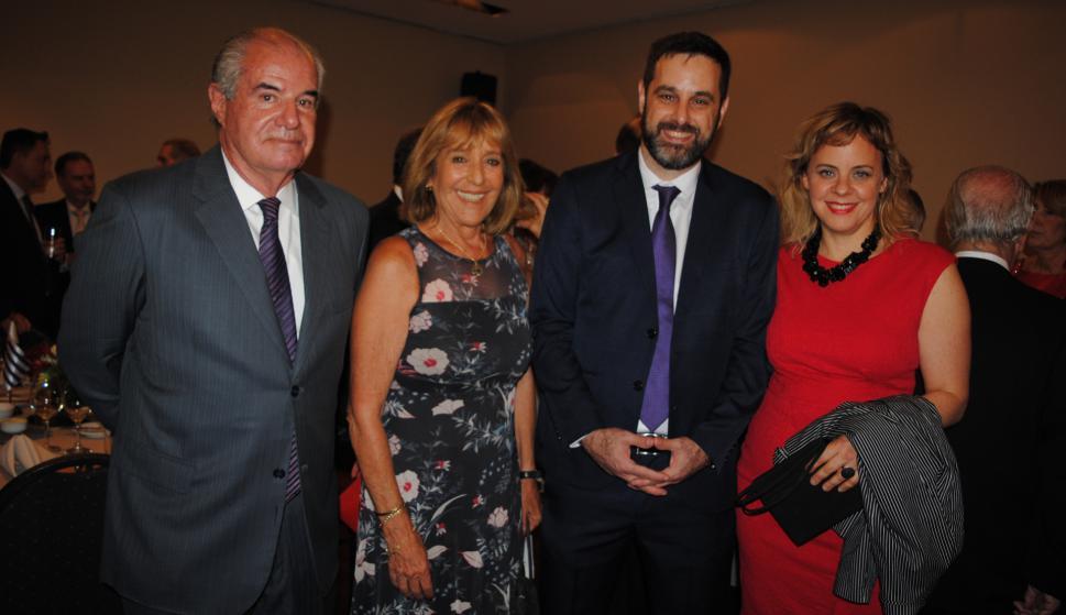 Adolfo Albanell, Irene Arrarte, Rafael Porzecanski, Verónica Czeszler.
