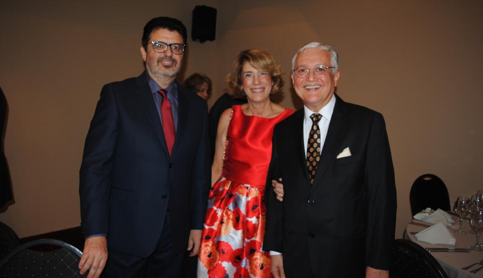 Pablo Montaldo, Nora Bugallo, Fernando Abad.