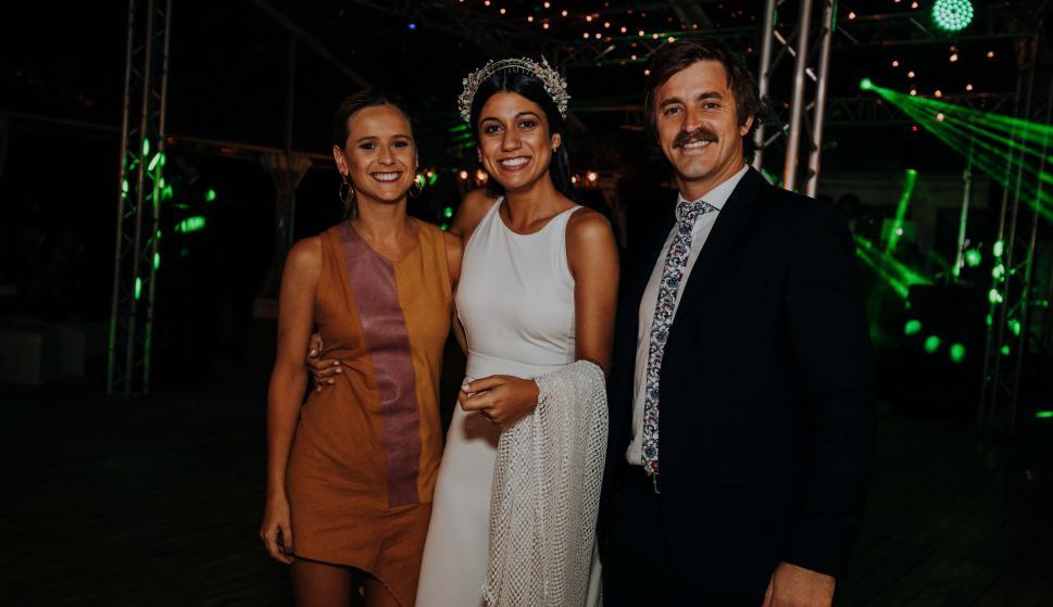 Camila Terra, Malena Machado, Toribio Zavalia.