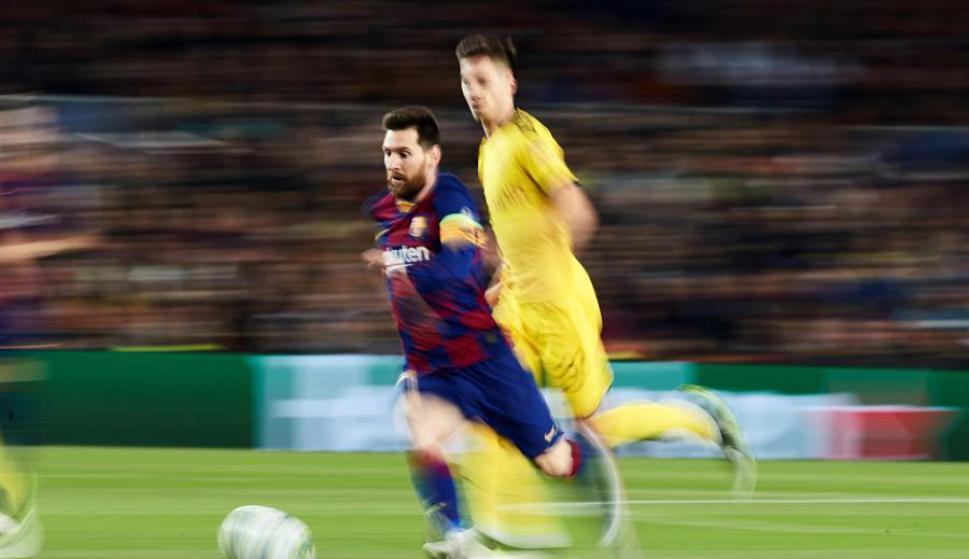 Lionel Messi se convirtió en el máximo goleador histórico de La Liga. Foto: EFE