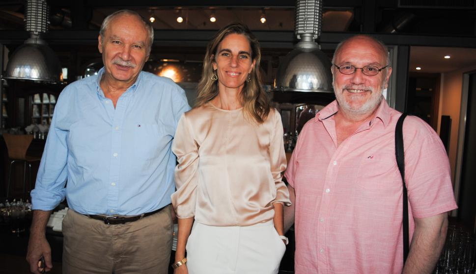Pablo Vierci, Adela Dubra, Gabriel Seisdedos.