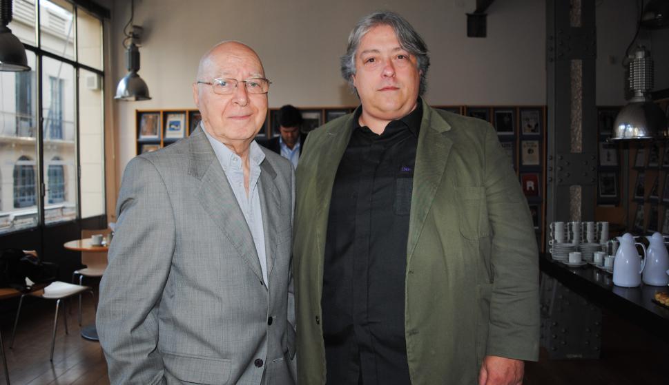 Aníbal Steffen, Luis Marcelo Pérez.