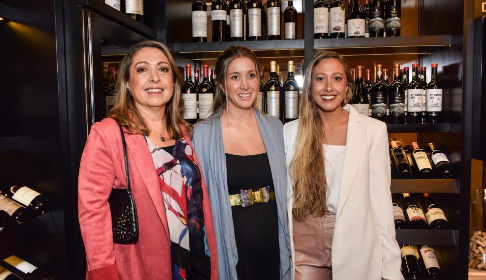 Rossana, Inés y Mercedes Deicas.