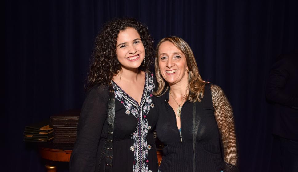 Florencia Salinas, Laura Rinaldi.