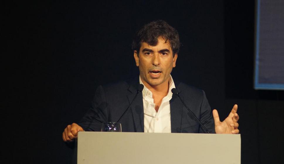Martín Aguirre, director de Redacción de El País. Foto: Ricardo Figueredo.