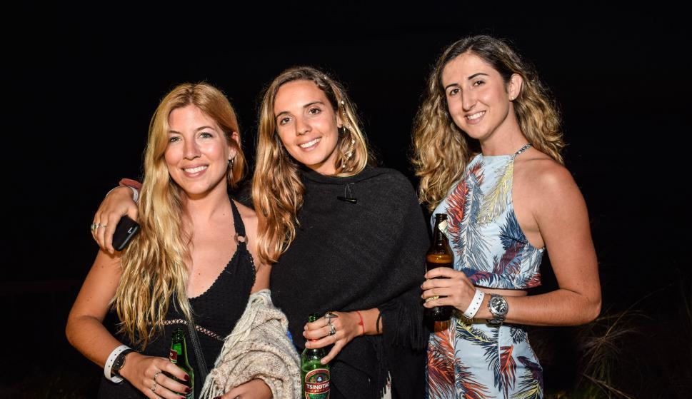 Alix Hardouin, Lucila Busquet, Guillermina Seré.