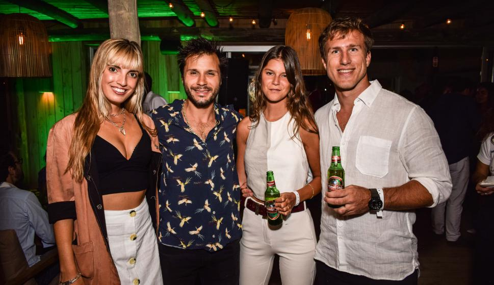 Luciana Rodiño, Francisco Beramendi, Magdalena Beer, Juan Pablo Pereira.