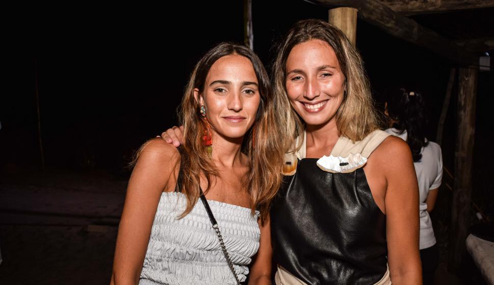 María Eugenia y Valentina Ruiz.