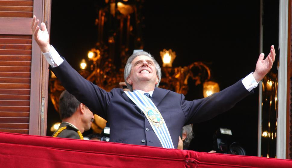 Desde el barrio La Teja, Vázquez proyectó su carrera profesional que lo llevó a ser presidente uruguayo en dos oportunidades. Foto: Archivo El País