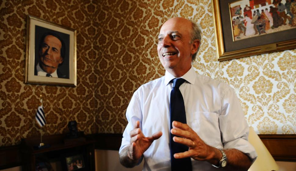 Álvaro García, futuro ministro de Defensa. Foto: Darwin Borrelli.