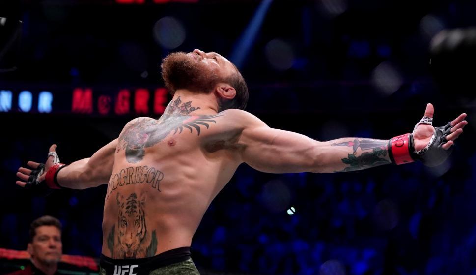 Conor McGregor. Foto: AFP.