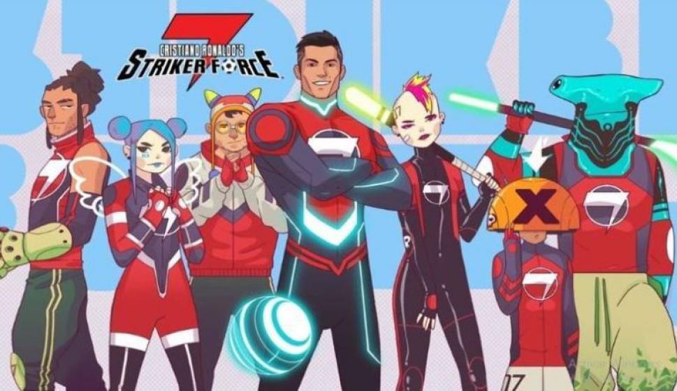 Cristiano Ronaldo en el comic Strike Force 7