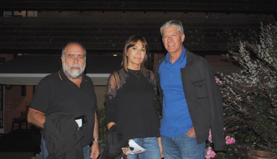 Carlos Nicolini, Patricia Soler, Carlos Varrone.